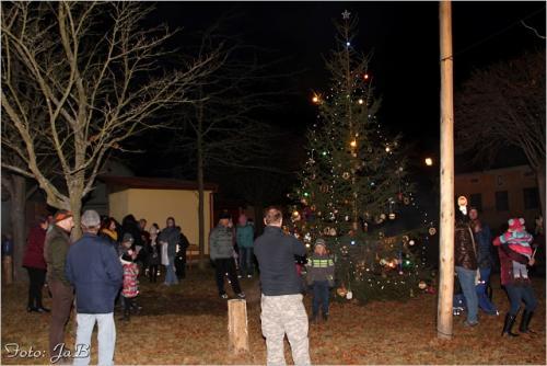 9. rozsvěcení vánočního stromu