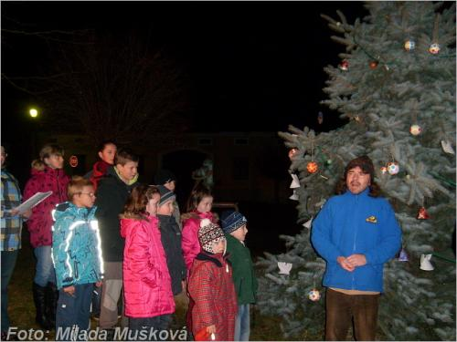 2. ročník rozsvěcení vánočního stromu