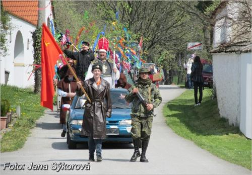 Tradiční prvomájové oslavy vŠipouně.